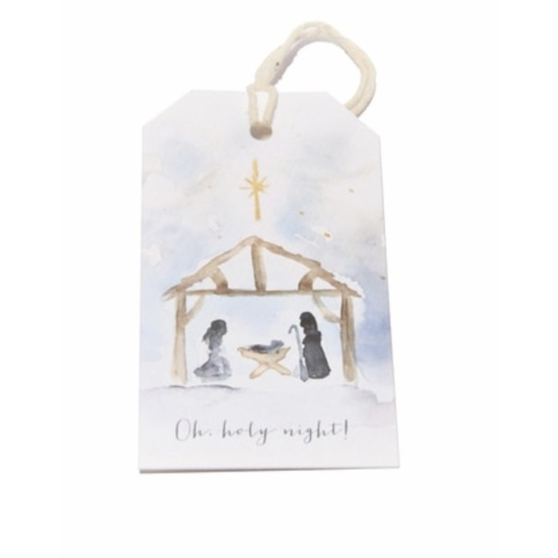 Over The Moon Over The Moon Oh Holy Night Gift Tag