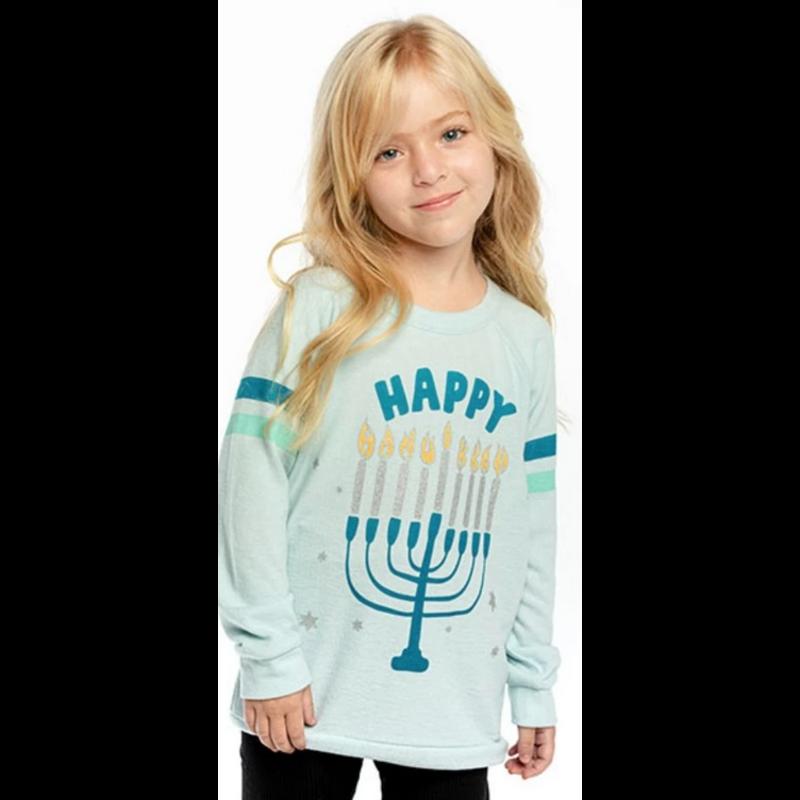 Chaser Chaser Happy Hanukkah Sweatshirt