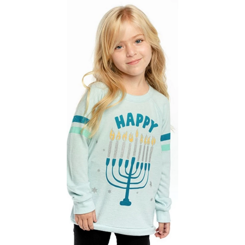Chaser Happy Hanukkah Sweatshirt