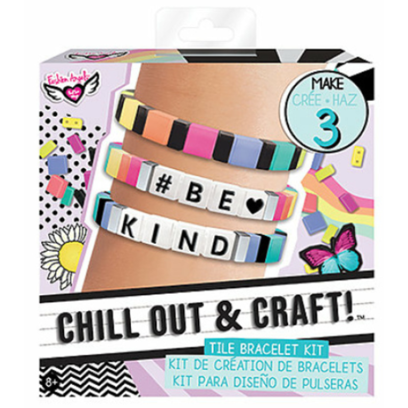 Fashion Angels Fashion Angels Chill Out & Craft Tile Bracelet Kit