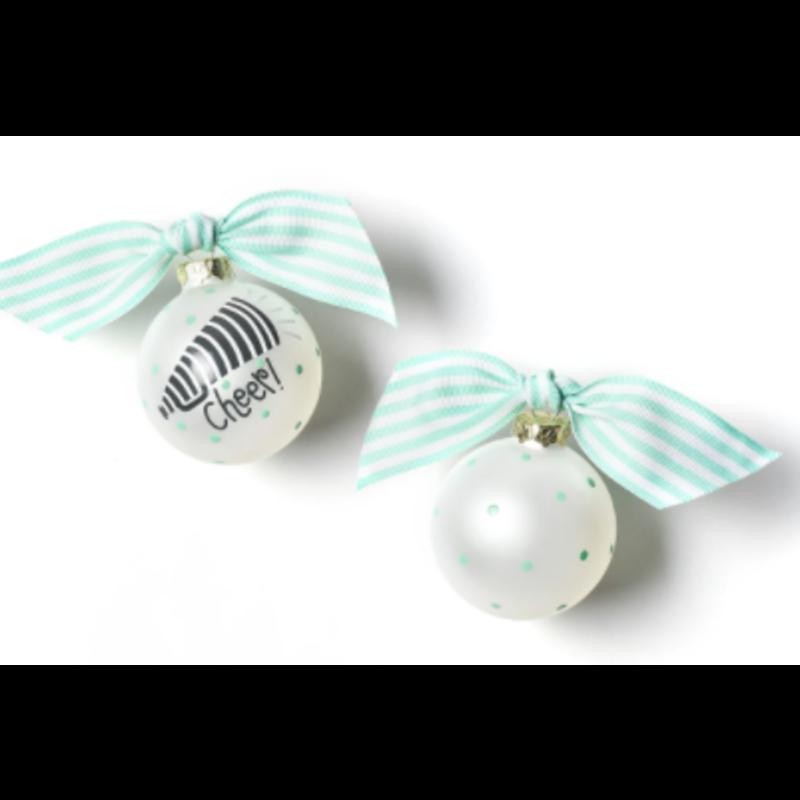 Coton Colors Cheerleading Ornament