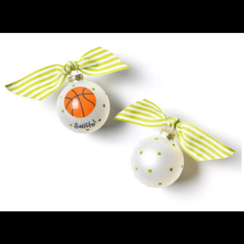 Coton Colors Basketball Ornament