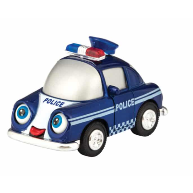 Schylling Schylling Blue Diecast Sonic Funny Vehicle