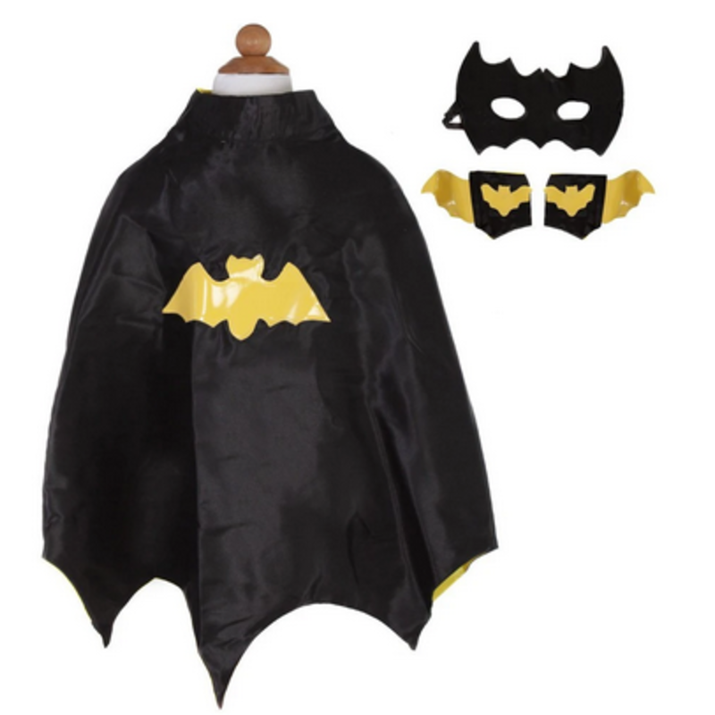 Great Pretenders Great Pretenders Bat Cape Set With Mask And Cuffs