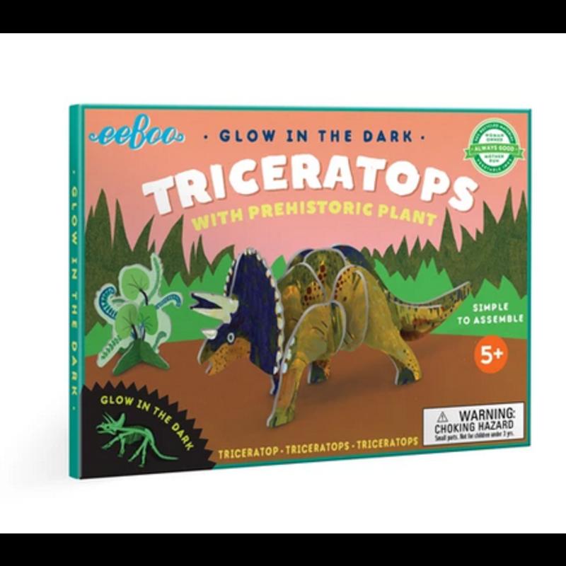 eeBoo Eeboo Triceratops 3D Dinosaur