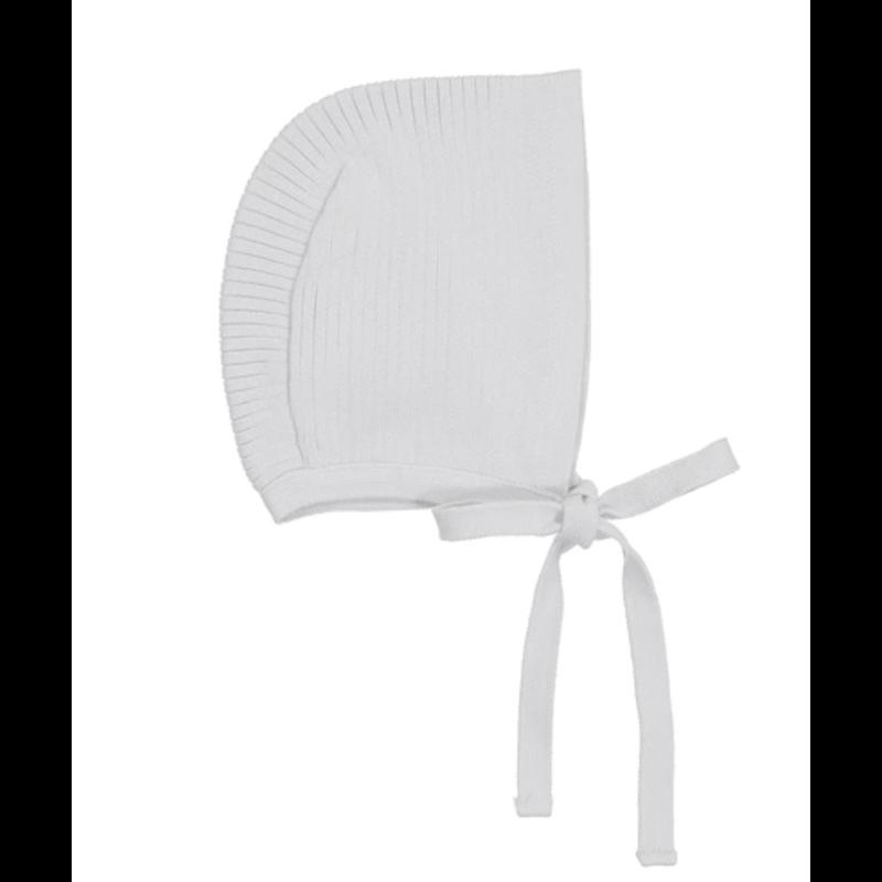 Feltman Brothers Ribbed Knit Bonnet - Lilac