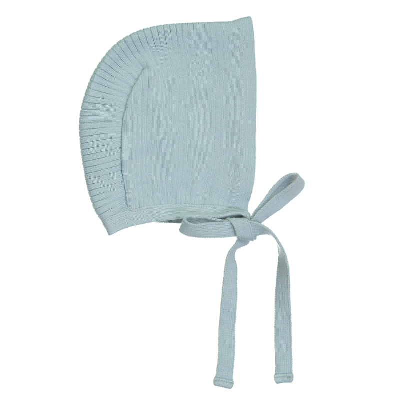 Feltman Brothers Ribbed Knit Bonnet - Mint