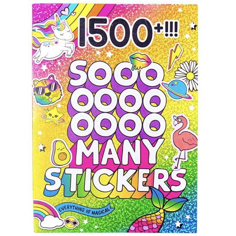 Horizon Group Usa 1500 So Many Stickers Book