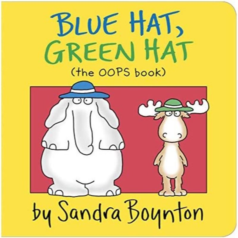 Blue Hat, Green Hat (the OOPS book)