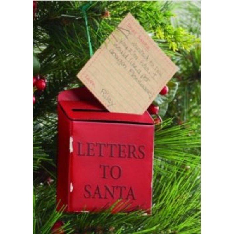 Mudpie Mail Box Ornament