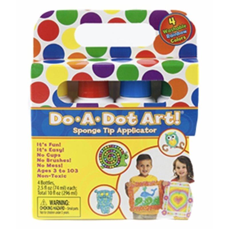 Do A Dot Art Rainbow Dot Markers 4 Pack
