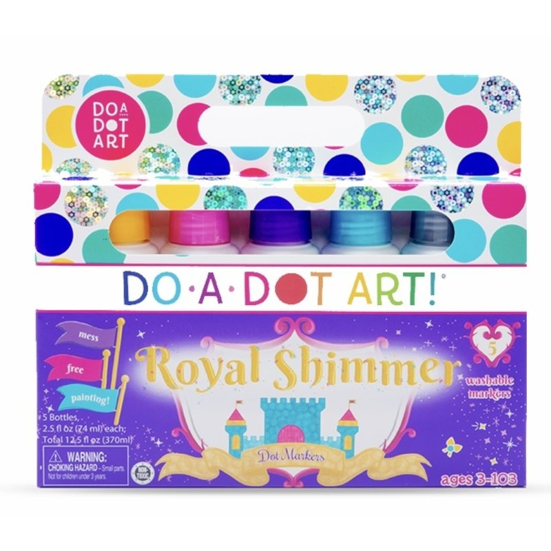 Do A Dot Art Royal Shimmers Markers 5 Pack