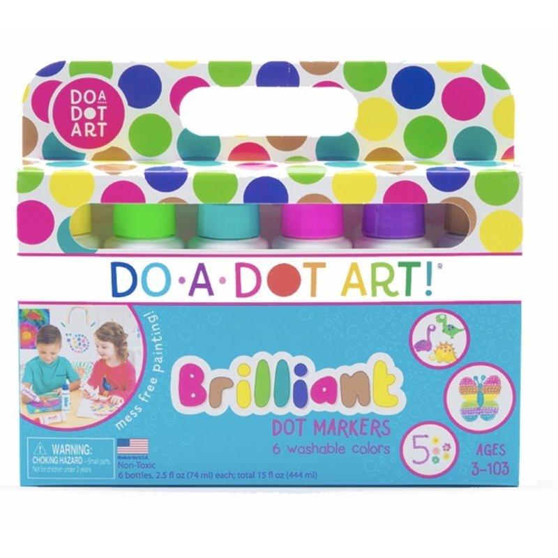 Do A Dot Art Do A Dot Art Brilliant Dot Marker 6 Pack