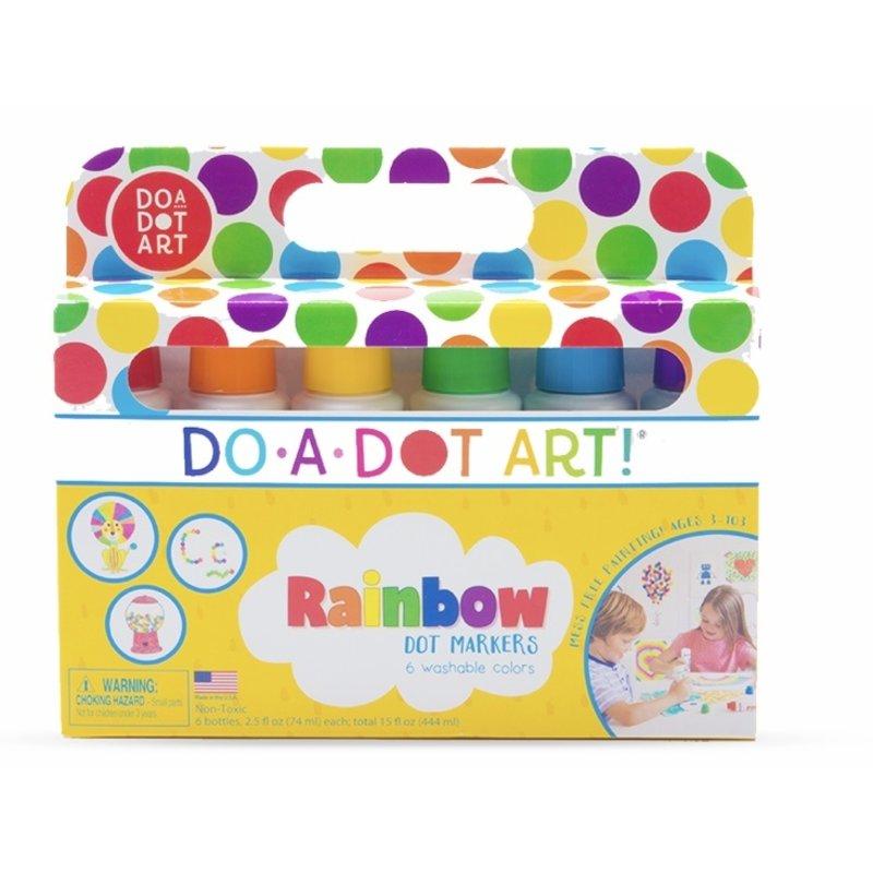Do A Dot Art Do A Dot Art Rainbow Dot Markers 6 Pack