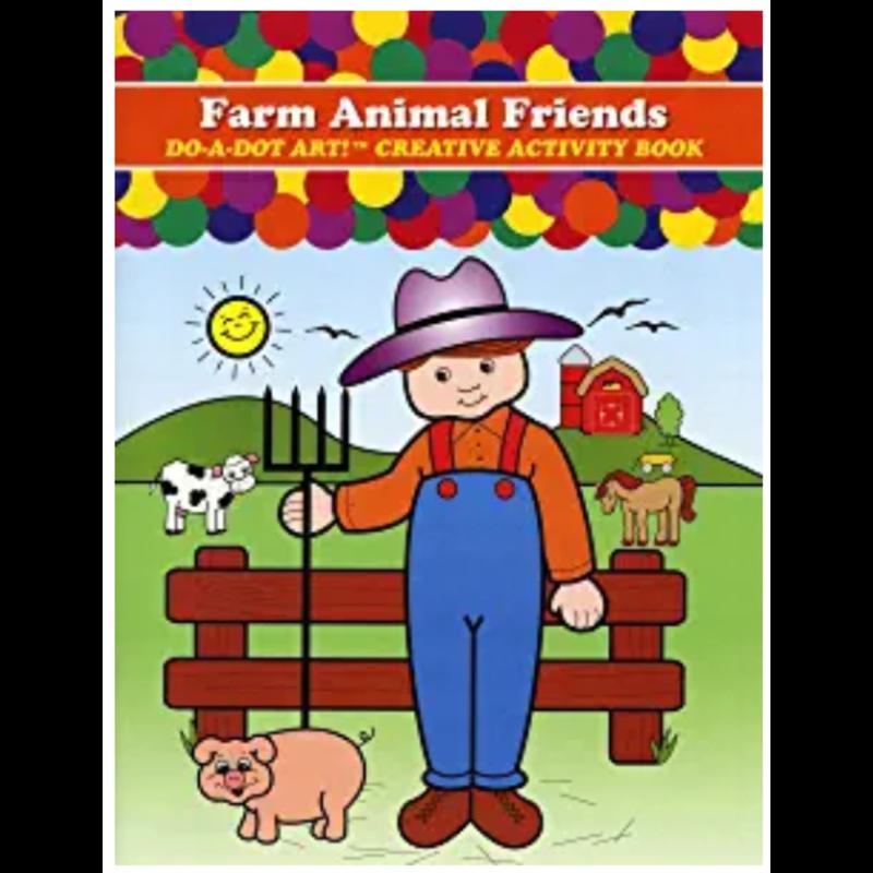 Do A Dot Art  Farm Animal Friends Activity Book