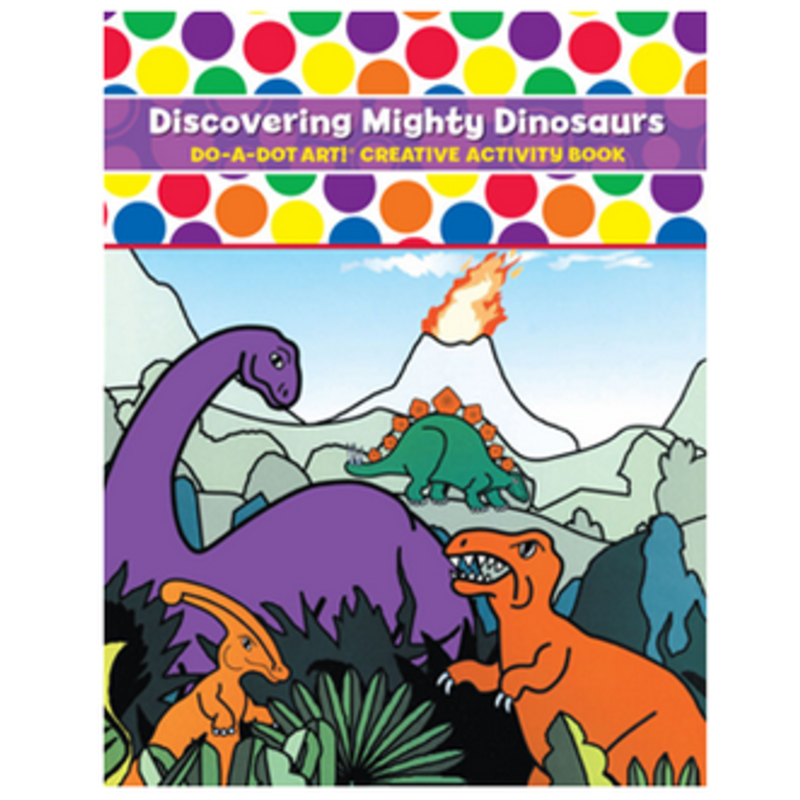 Do A Dot Art Discovering Mighty Dinosaurs Activity Book