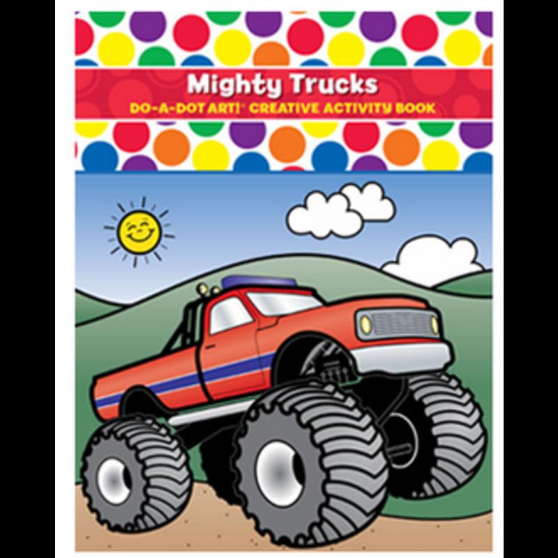 Do A Dot Art Mighty Trucks Activity Book