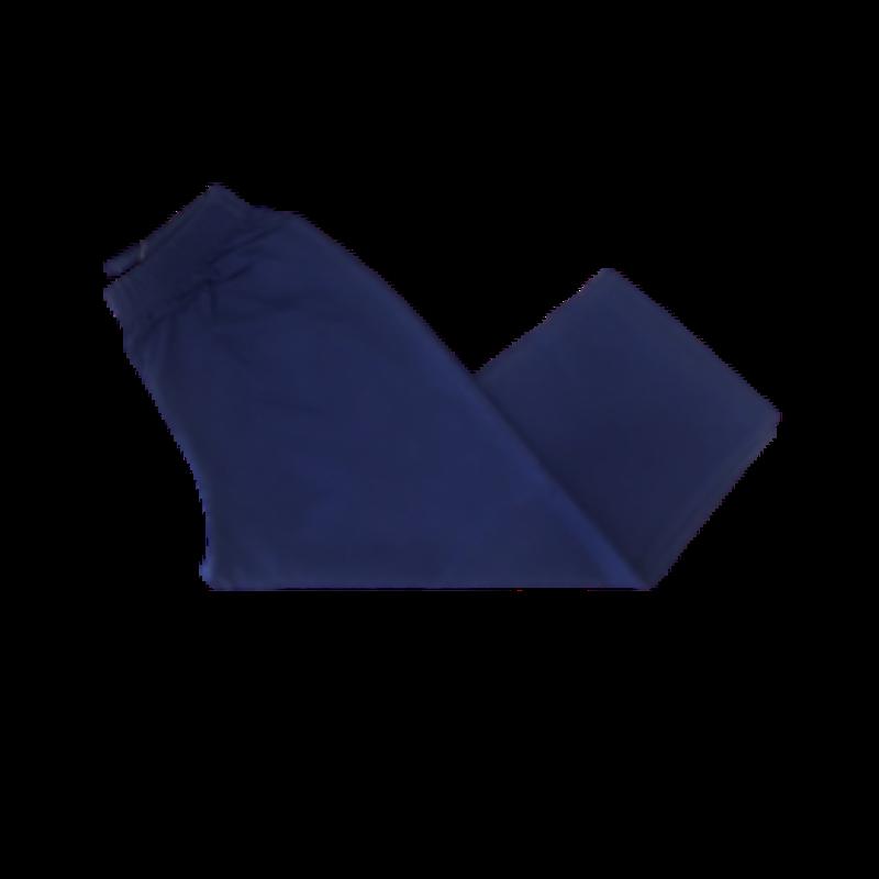 Luigi Luigi Jersey Straight Pants Navy