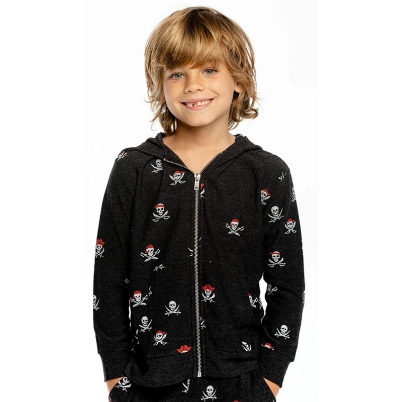 Chaser Chaser Pirate Zip Hoodie