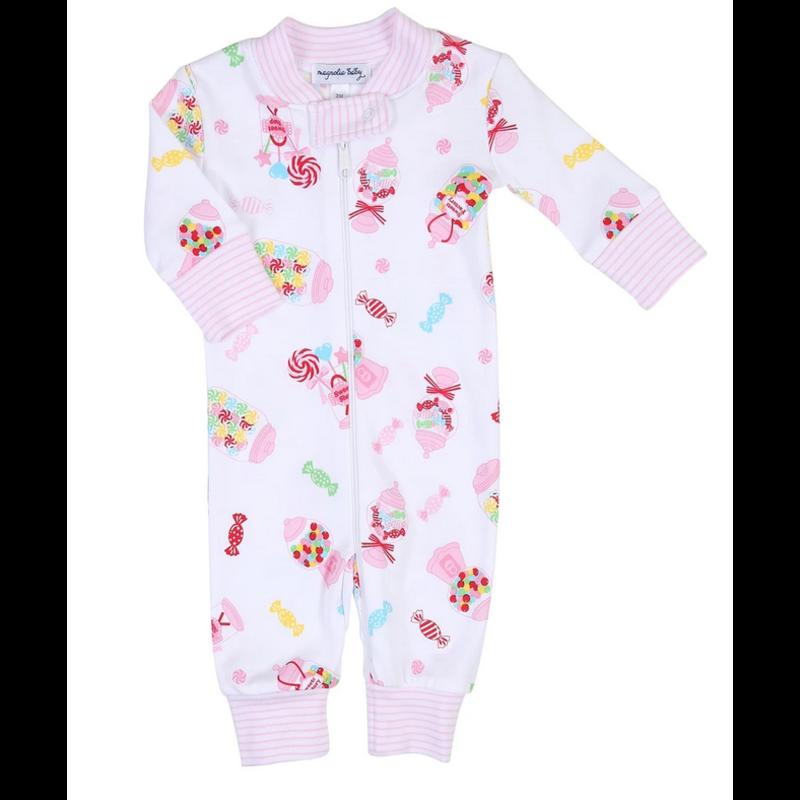 Magnolia Baby Magnolia Baby Candy Shop Zipped Pajama