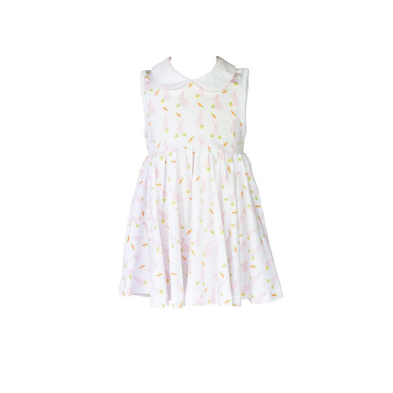 The Proper Peony The Proper Peony Pink Bunny Twirl Dress