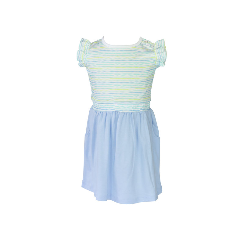 The Proper Peony The Proper Peony Stripe Edith Waist Dress