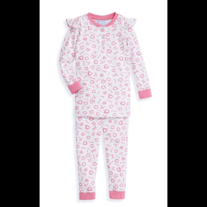 bella bliss bella bliss Pink XO Ruby Pima Jammies