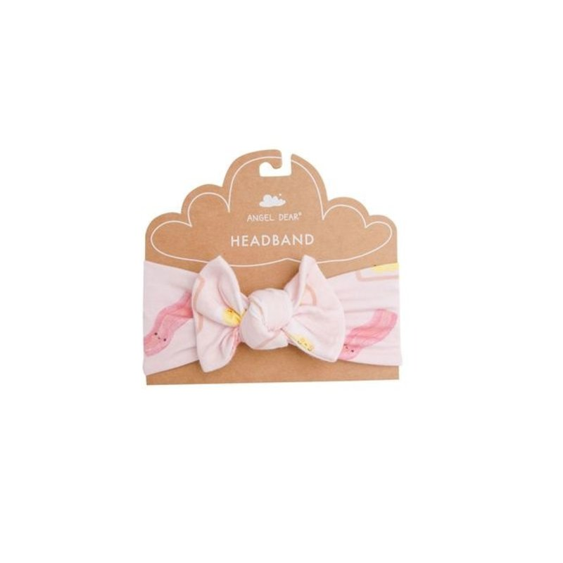 Angel Dear Angel Dear Bacon And Eggs Pink Headband