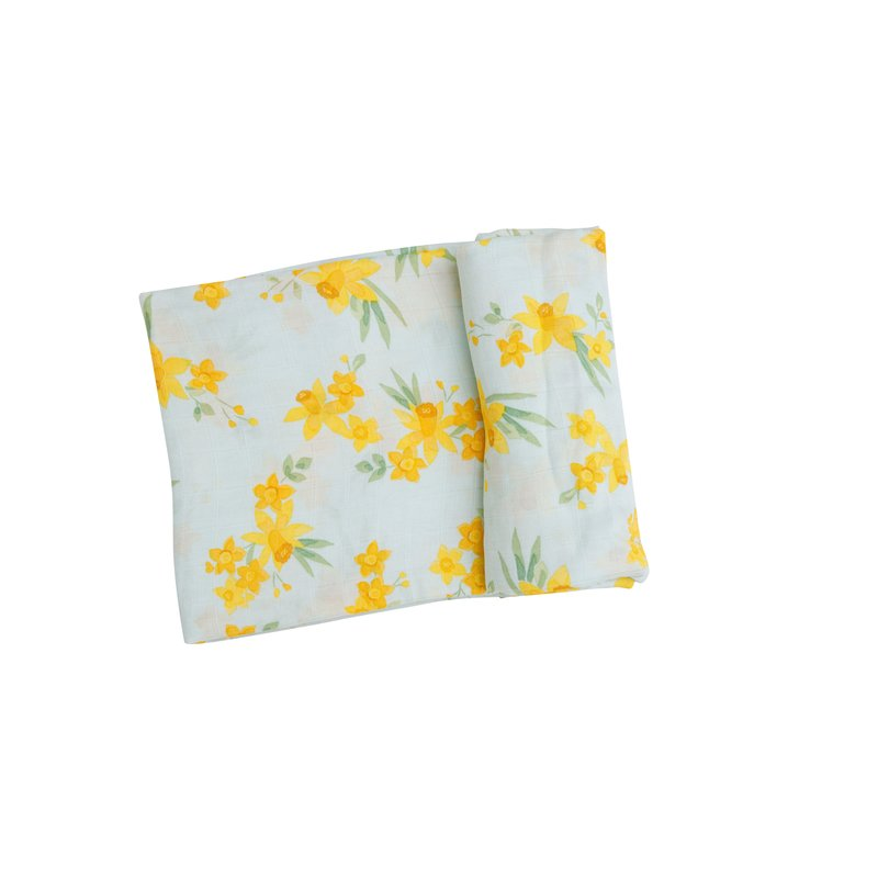 Angel Dear Angel Dear Daffodils Swaddle Blanket