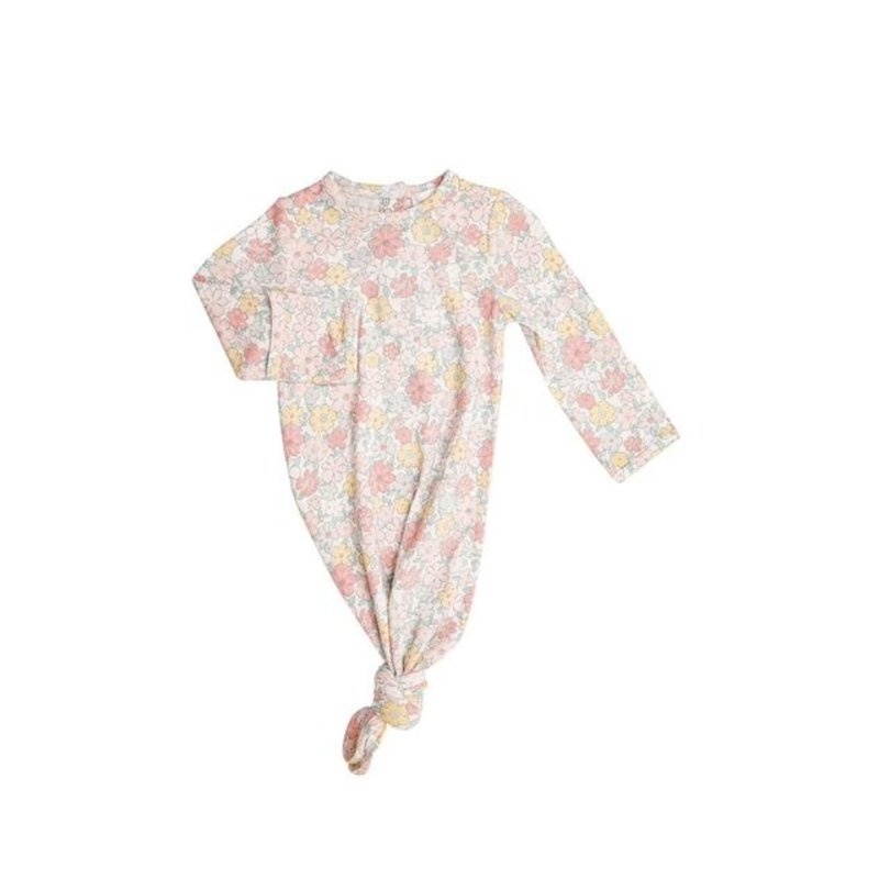 Angel Dear Angel Dear Sweet Ditsy Knotted Gown
