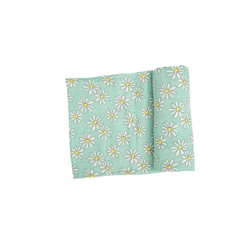 Angel Dear Angel Dear Flower Power Swaddle Blanket