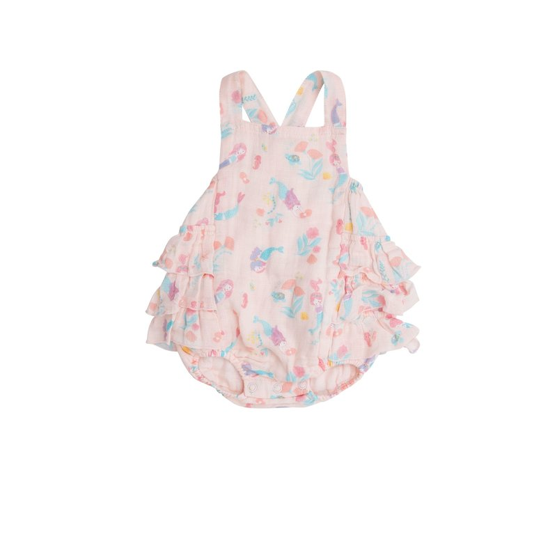 Angel Dear Angel Dear Mermaids Ruffle Sunsuit