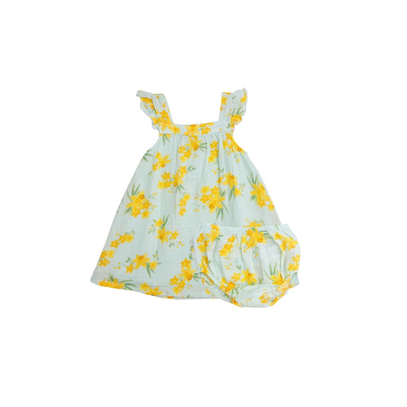 Angel Dear Angel Dear Daffodils Sundress/Diaper Cover