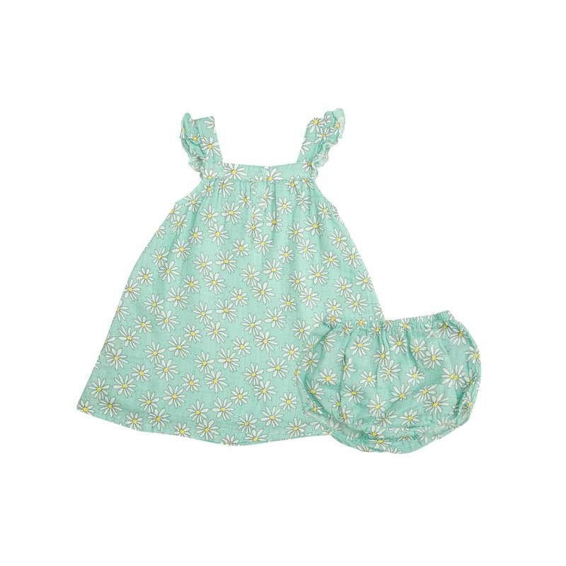 Angel Dear Angel Dear Flower Power Sundress/Diaper Cover