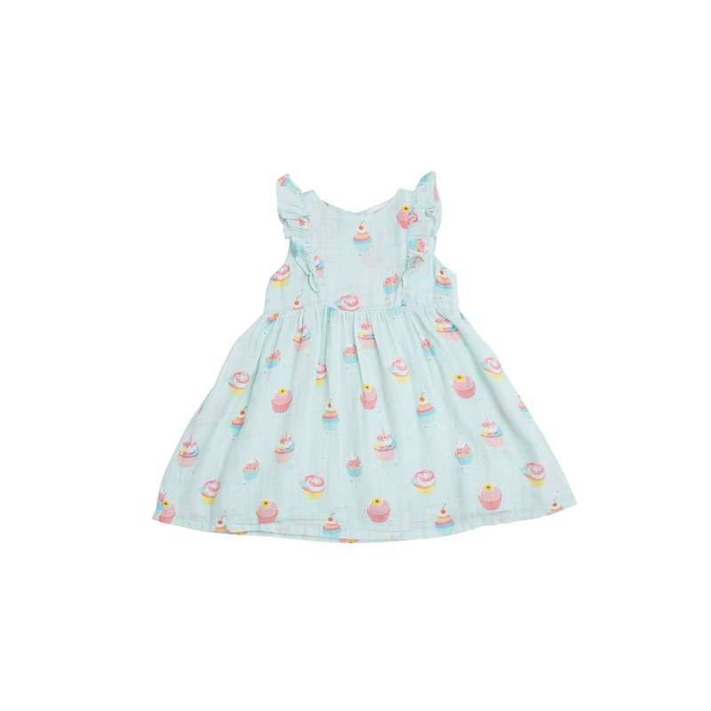 Angel Dear Angel Dear Blue Cupcake Dress