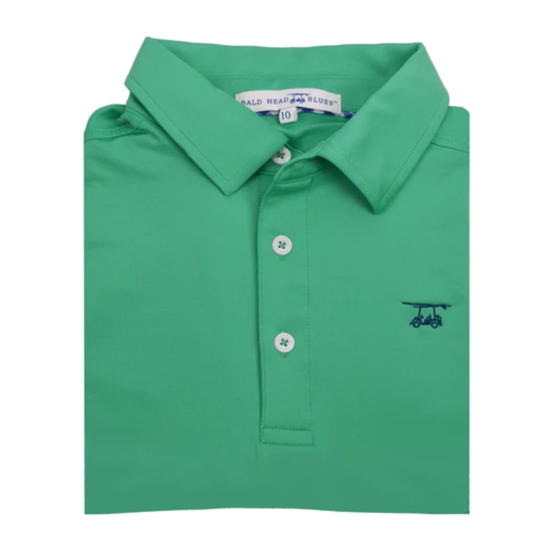 Bald Head Blues Bald Head Blues Albatross Youth Polo - Solid Mint Leaf