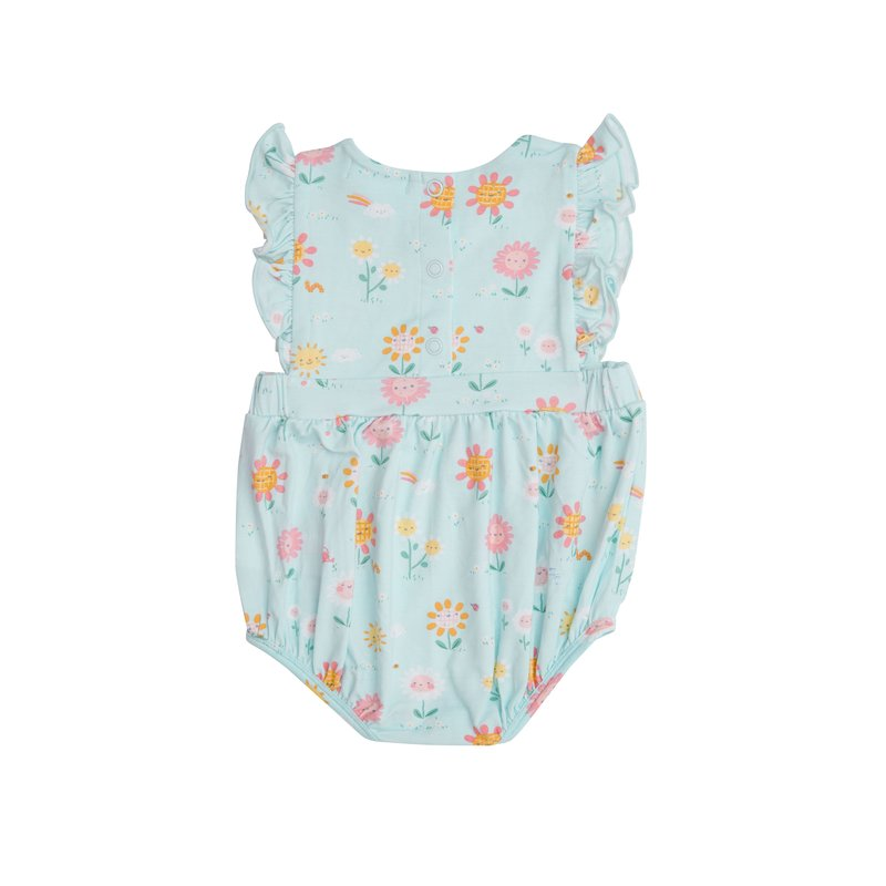Angel Dear Angel Dear Hello Daisy Ruffle Sunsuit