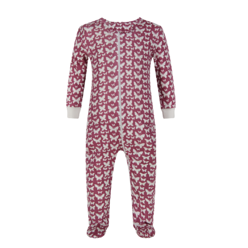Lila + Hayes Lila + Hayes Parker- All Aflutter Zipper Pajama