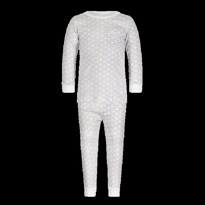 Lila + Hayes Lila + Hayes Bradford- Baseballs Pocket 2pc Pajama Set
