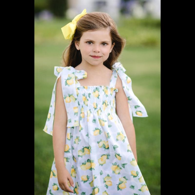 Sal & Pimenta Sal & Pimenta Blue Lemonade Bows Dress