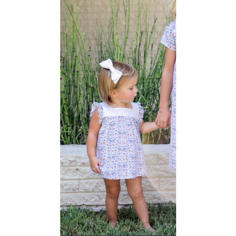 Lila + Hayes Lila + Hayes Annie Baby- Fiesta Bloomer Set