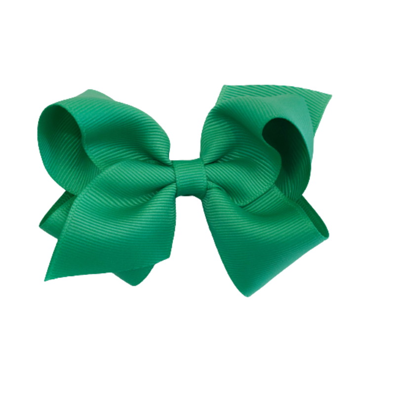 Wee Ones Bows Wee Ones Small Fern Green Bow