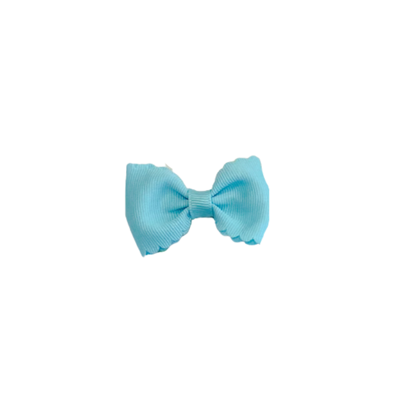 Wee Ones Bows Wee Ones Tiny Aqua Bow