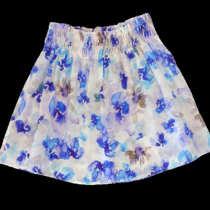 Bella Dahl Girl Bella Dahl Girl Smock Waist Flutter Skirt