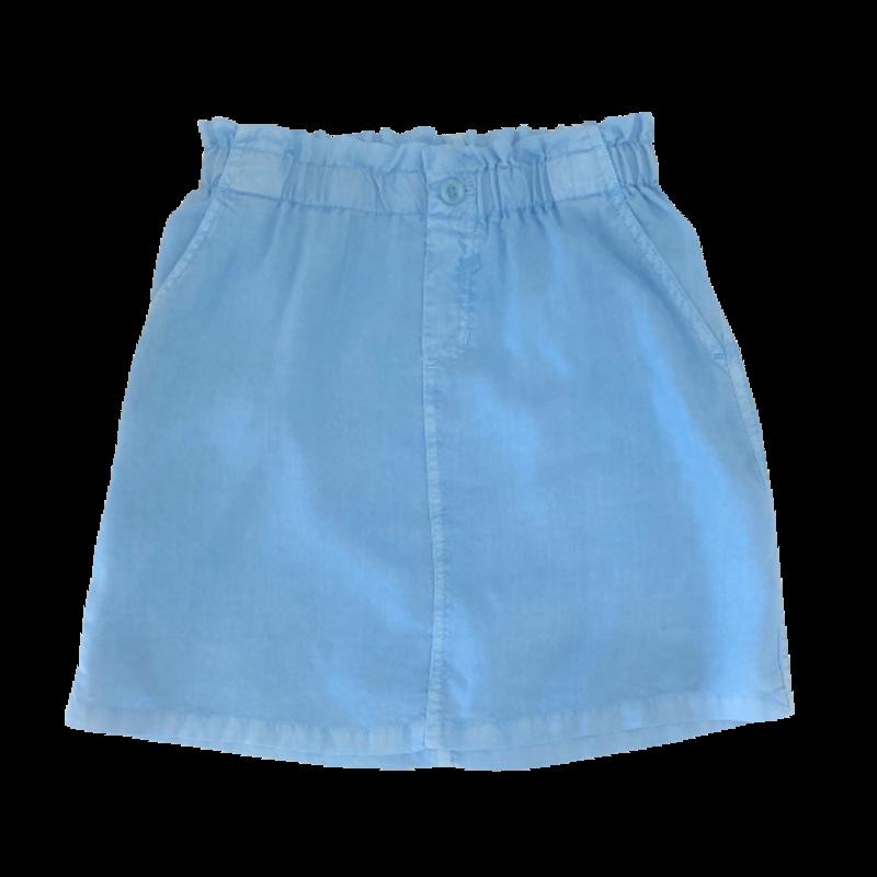 Bell Dahl Girl Bella Dahl Girl Elastic Waist Skirt W Buttons