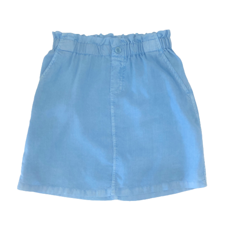 Bella Dahl Girl Bella Dahl Girl Elastic Waist Skirt W Buttons