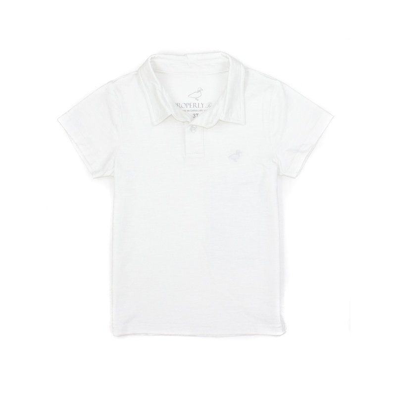 Properly Tied Properly Tied Hayden Polo - White