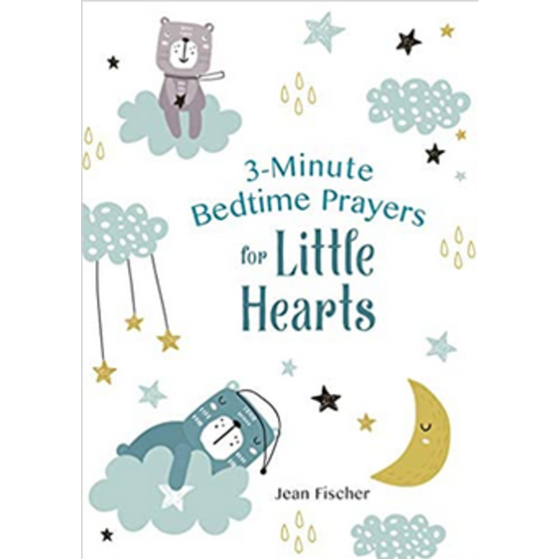Barbour Publishing 3-Minute Bedtime Prayers For Little Hearts
