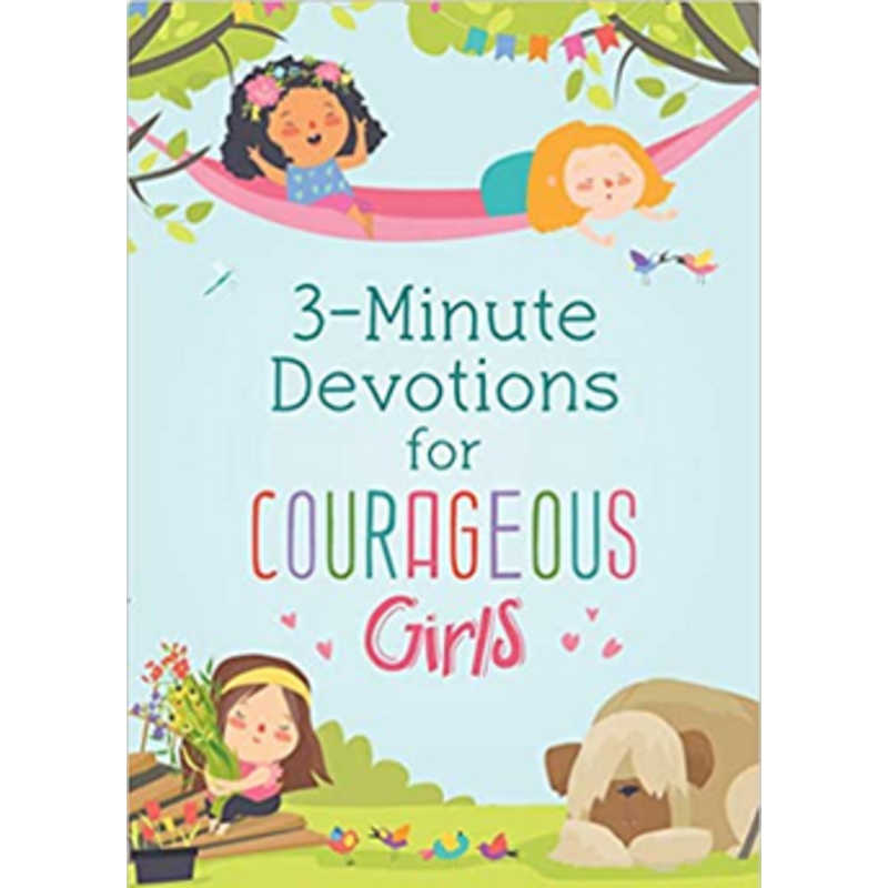Barbour Publishing 3-Minute Devotions For Courageous Girls