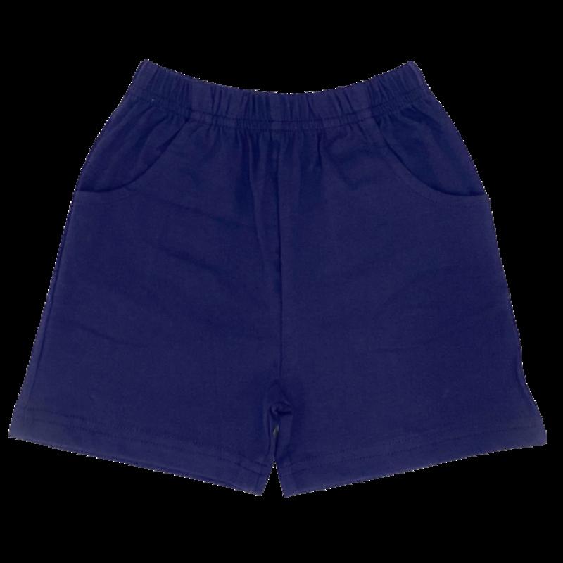 Luigi Luigi Jersey Shorts w/ Pockets - Dark Royal